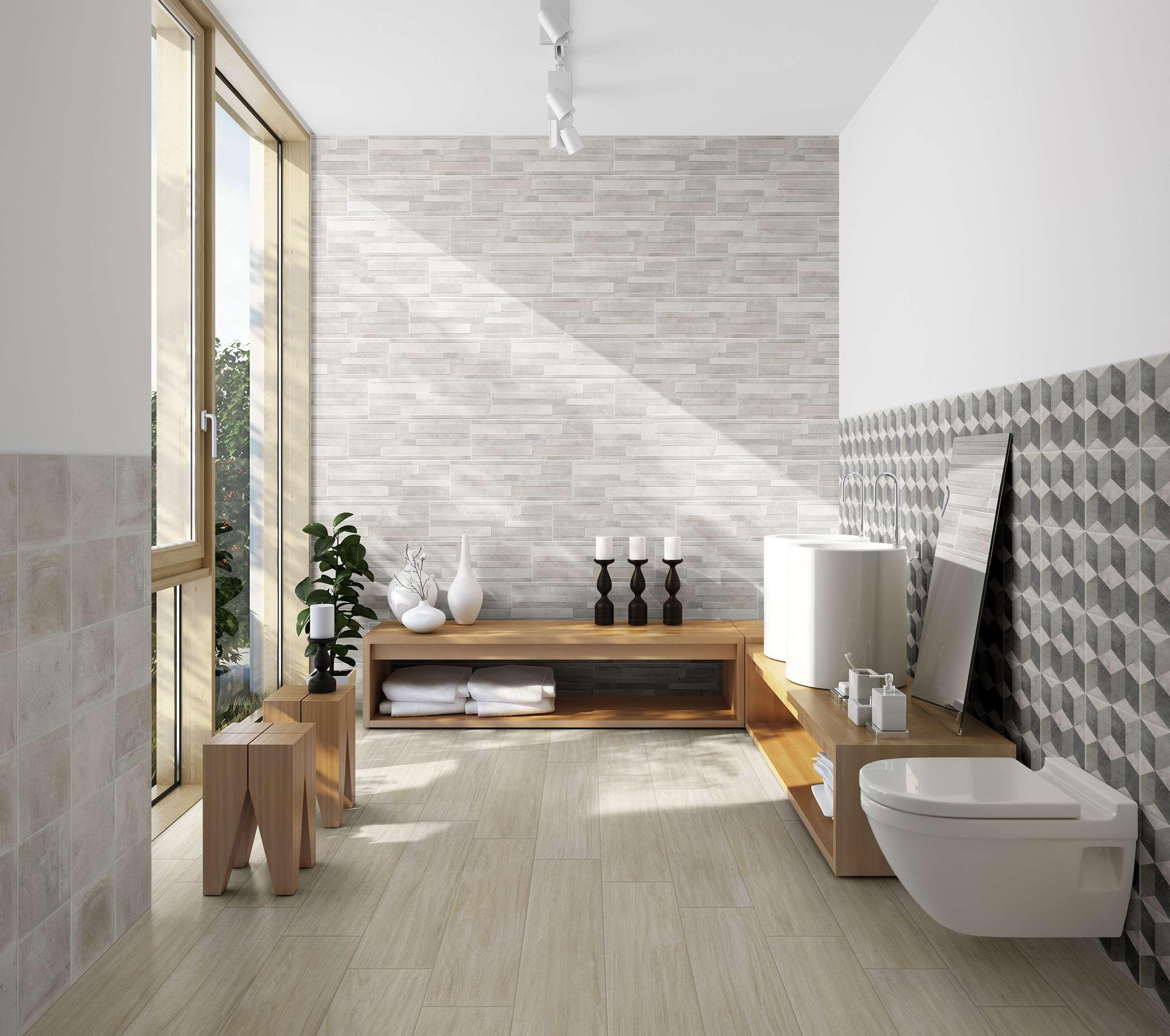 Atelier Muretto Bianco 20x60 20x60 Rivestimenti Gres Porcellanato
